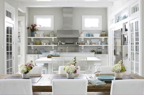 açık mutfak raf modeli