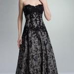 boydan dantel abiye elbise