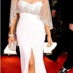jennifer lopez beyaz dekolteli abiye elbise