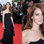 siyah straplez abiye elbise modeli