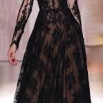 straplez siyah dantelli abiye elbise