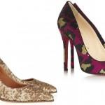 çok şık payetli ayakkabı modelleri