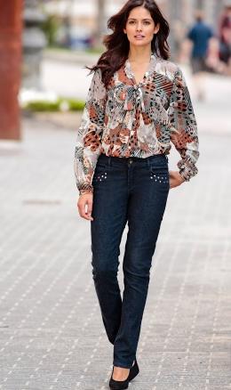 2013 desenli bayan gömlek modeli