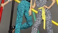 Geometrik Desenli Kıyafet Modelleri
