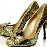 fiyonklu payetli ayakkabı modeli