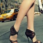 ince topuklu payetli ayakkabı modeli