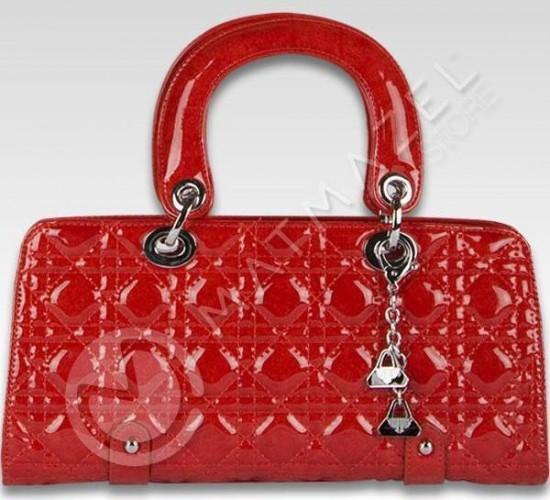 modern kırmızı matmazel çanta