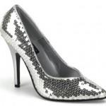 sivri burun payetli ayakkabı modeli