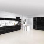 siyah-beyaz istikbal regina mutfak örnekleri