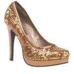 yeni sezon payetli ayakkabı modeli