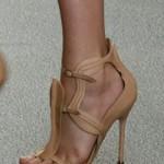 açık chanel ayakkabı modeli