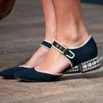 alçak topuk chanel ayakkabı modeli