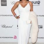 beyaz kürk detaylı abiye elbise modeli
