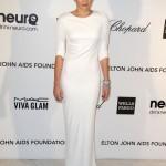 beyaz sade abiye elbise modeli