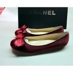 bordo babet chanel ayakkabı modeli