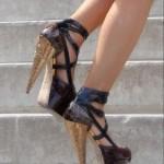 chanel deri ayakkabı modeli