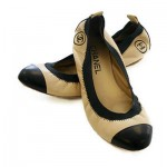 chanel deri babet ayakkabı modeli