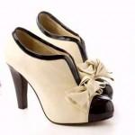 japon tarzı chanel ayakkabı modeli