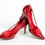 kırmızı chanel ayakkabı modeli