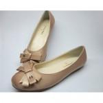 sütlü kahve rangi chanel ayakkabı modeli