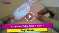 Bebek Patik Örgüsü Nasıl Yapılır