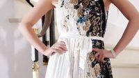 Son Trend Dekolteli Mini Elbise Modelleri