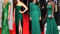 Zümrüt Yeşili Abiye Elbise Modelleri